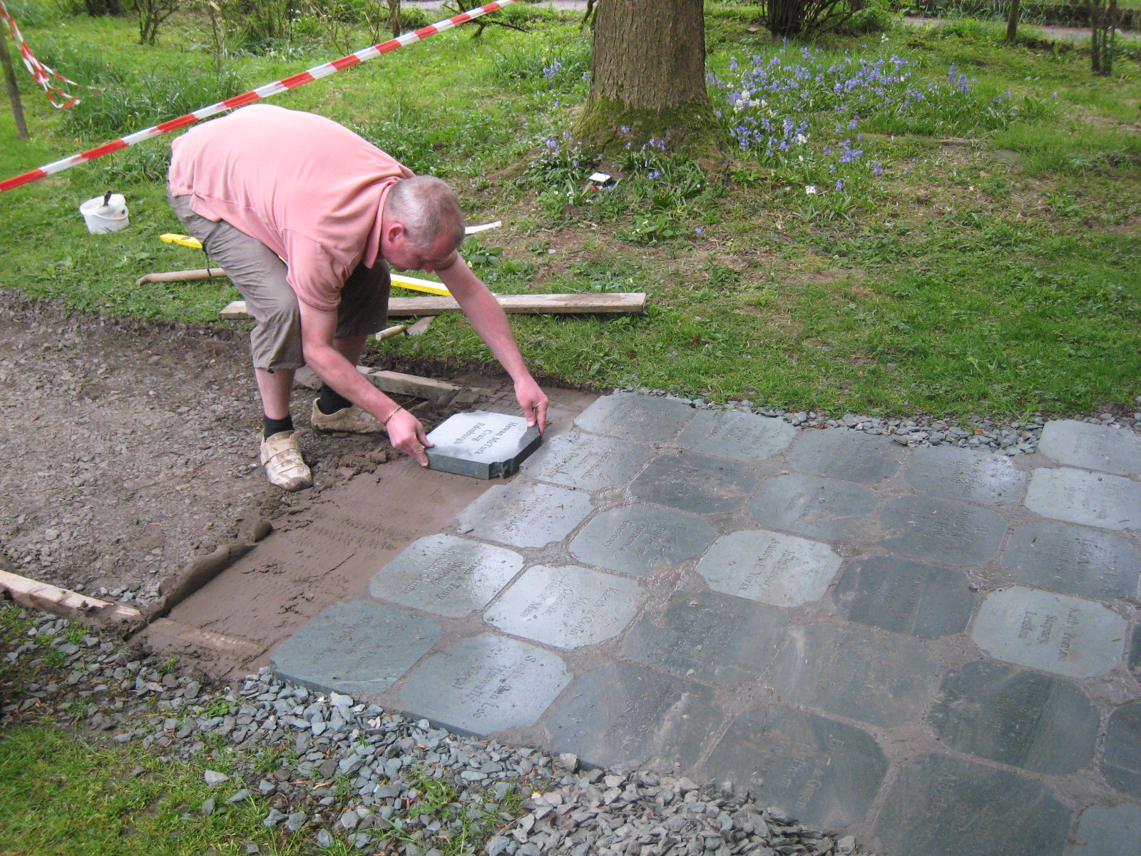Grasmere daffodil garden grasmere village english lake district laying stones grasmere daffodil garden workwithnaturefo