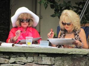 Amanda Barrie & Sherrie Hewson