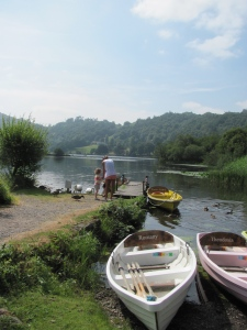 Rowing Boats at Grasmere