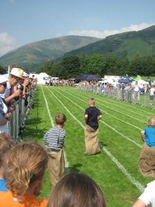 Grasmere Sports Sack Race