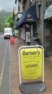 Barney's Newsbox Grasmere