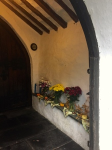 Autumn Church Porch Grasmere