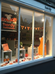 Autumn Herdy Shop Display