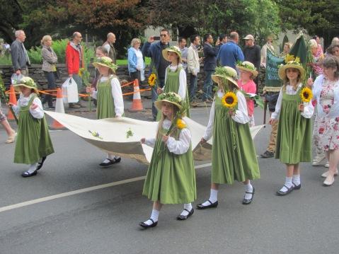 Rushbearing Maidens 2015