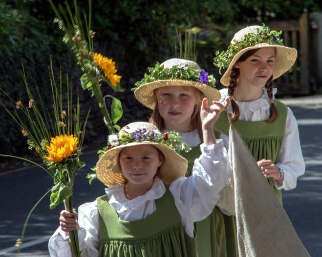 Rushbearing Maidens