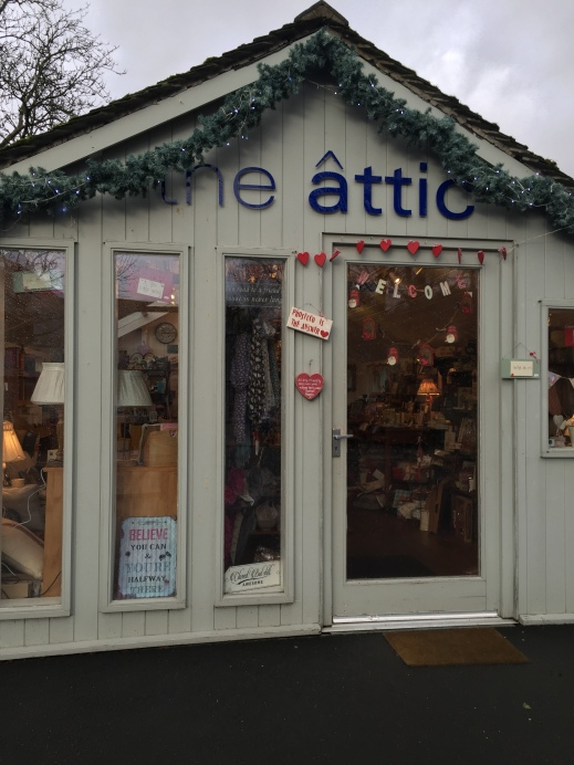 Attic shop Grasmere
