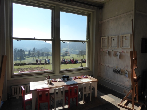 Allan Bank Art Room
