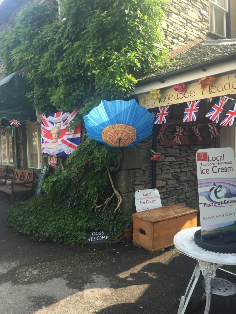 Grasmere flags are flying
