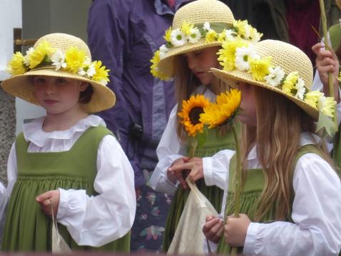 Grasmere Rushbearing Maidens
