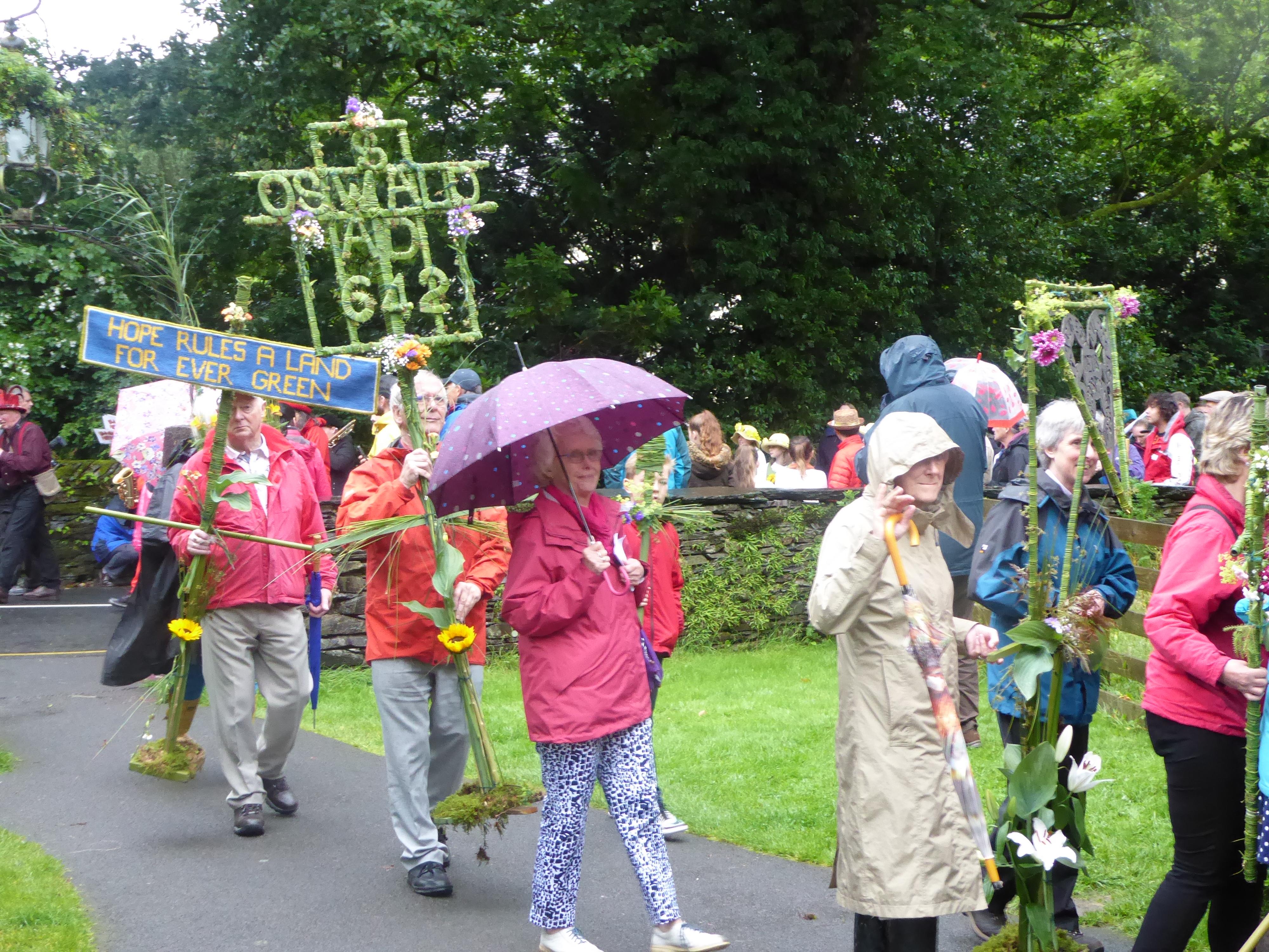 Grasmere Rushbearing Parade