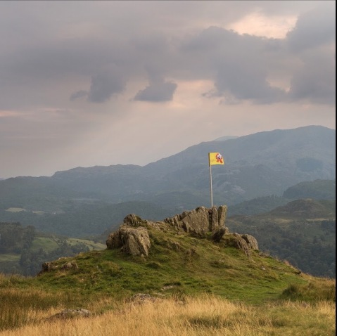 Guides Race Flag Grasmere
