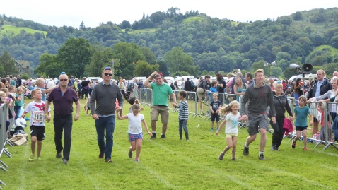 Family races at Grasmere
