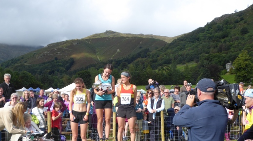 Female Grasmere race winners