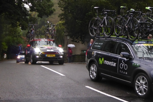 Tour of Britain entourage