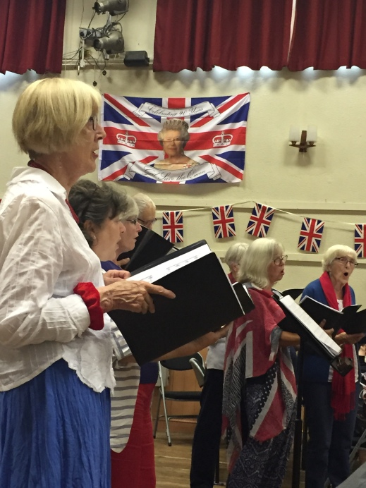 Singing in the Village Hall