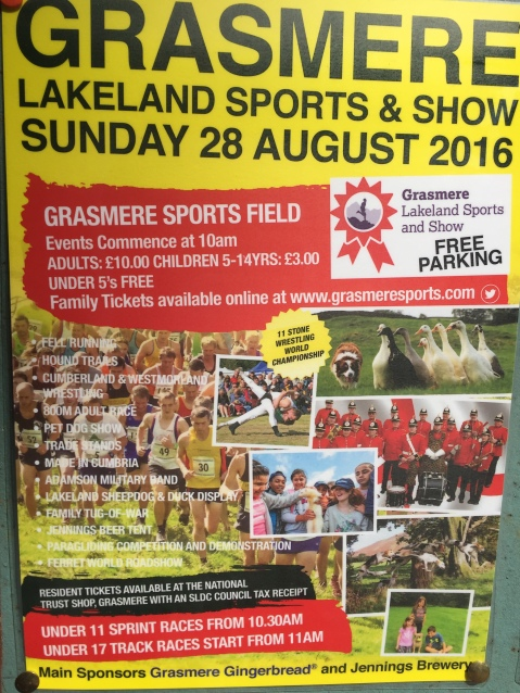 Grasmere Sports Poster