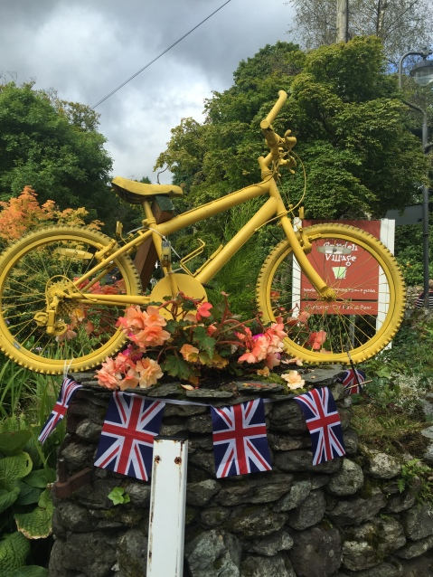 Yellow Bikes Grasmere